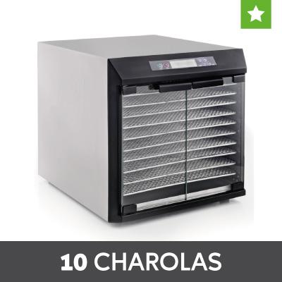 Deshidratadores 10 charolas