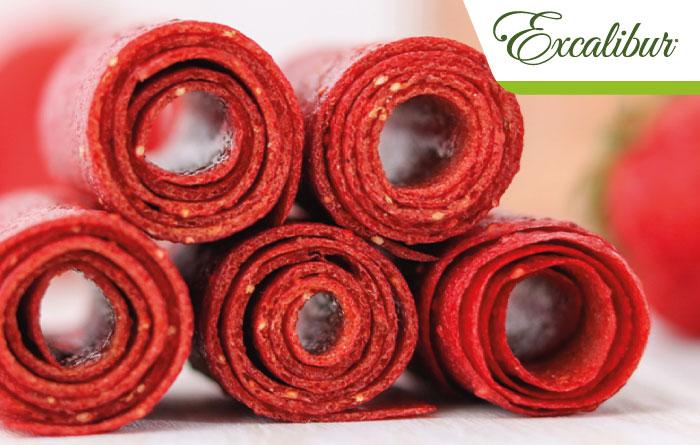 Strawberry Rosé Roll