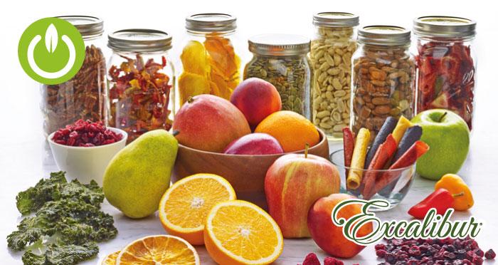 Maneras correctas de conservar tus alimentos deshidratados.